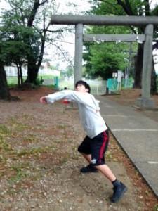 神社野球3
