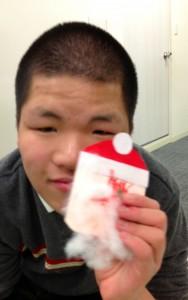 クリスマスカードM2