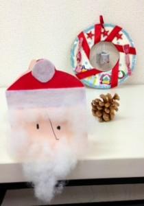 クリスマスリース&カード